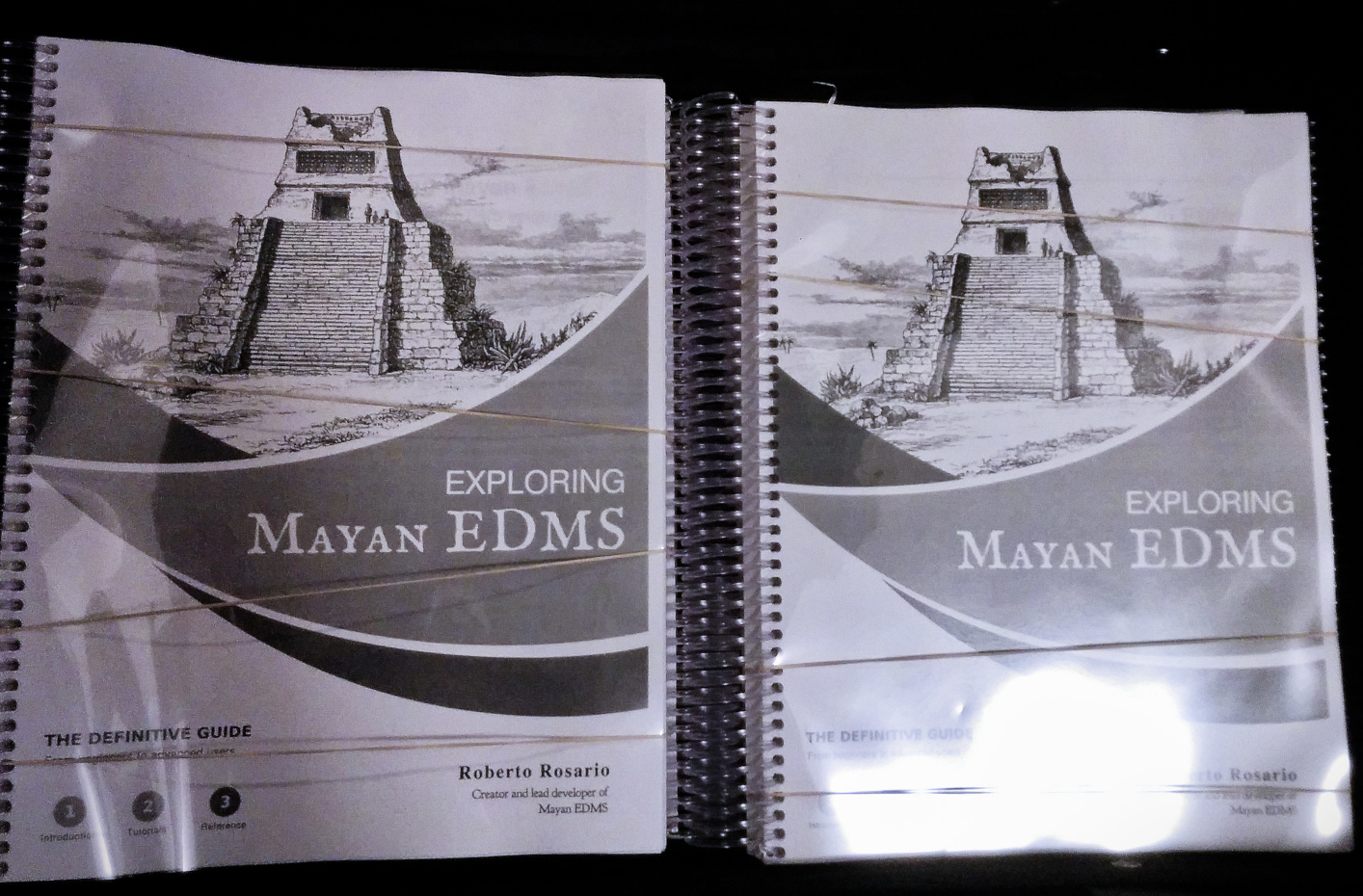 Copies of Exploring Mayan EDMS ready to travel to South Carolina