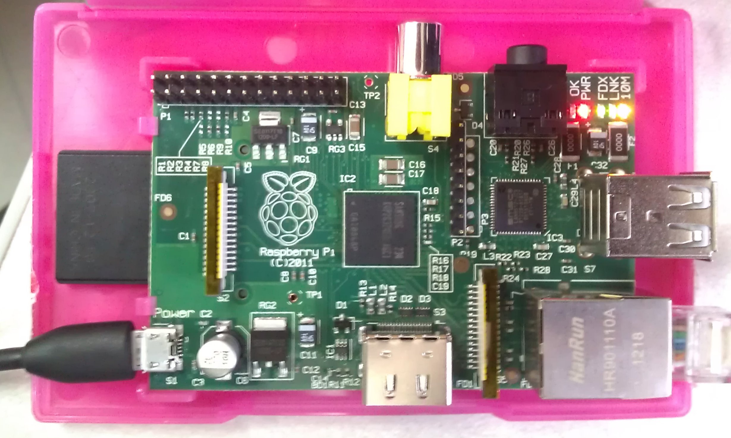 Raspberry Pi silently churning out documents via Mayan EDMS
