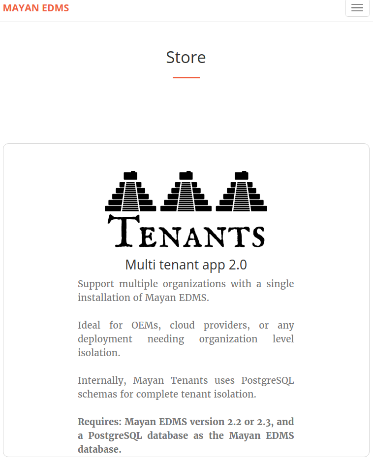 Mayan EDMS first crowdfunding